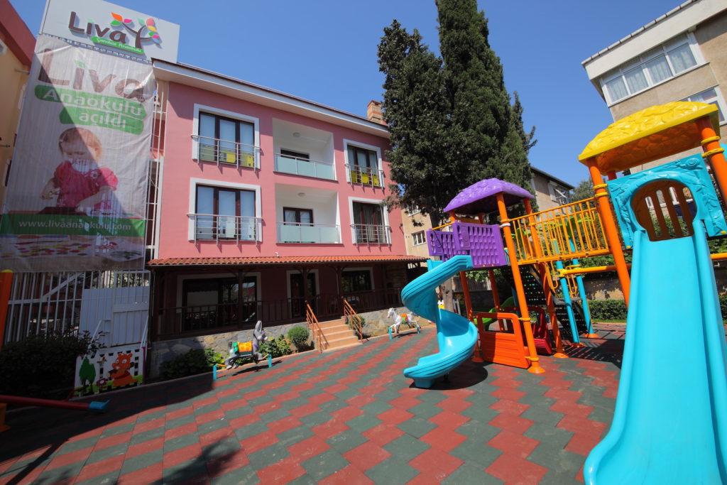 Okul Binası Oyun Parkı